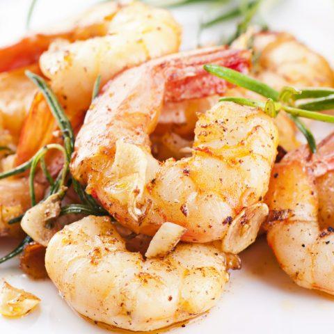 Image of fried prawns