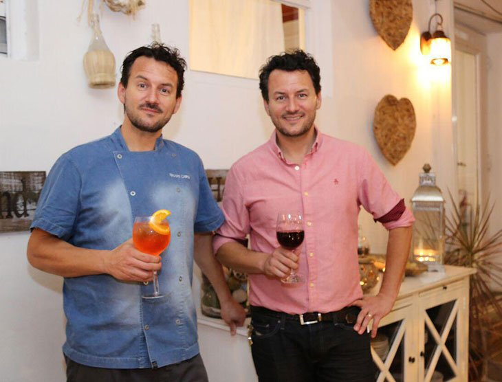 one of the best Biscayne Blvd restaurants owners Fabrizio and Nicola Carro