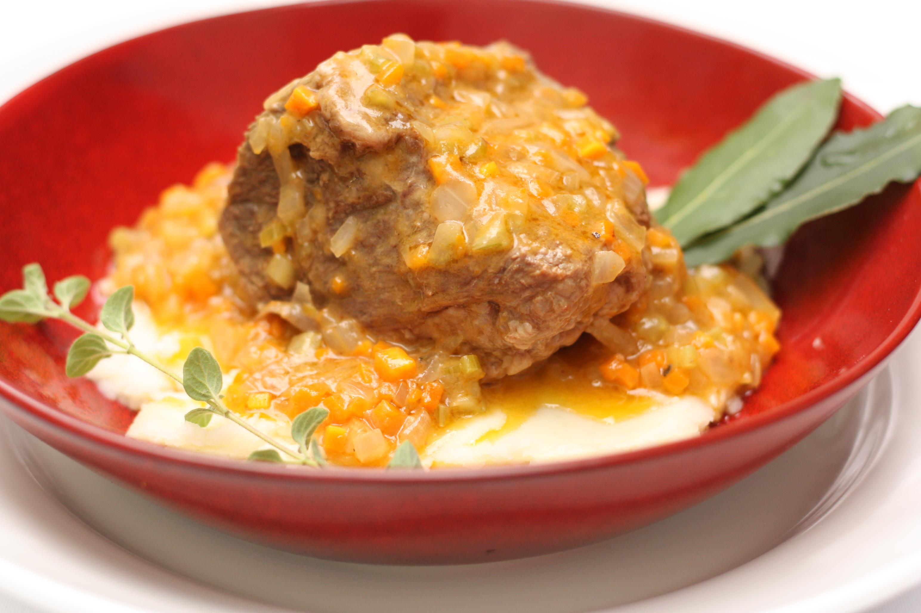 Image of ossobuco from best Italian Restaurant in Miami.